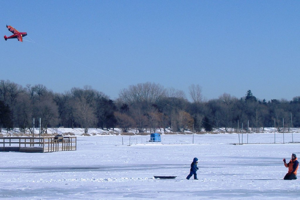 Lake Harriet in Winter by Amy Mingo. Licensed under CC BY 2.0