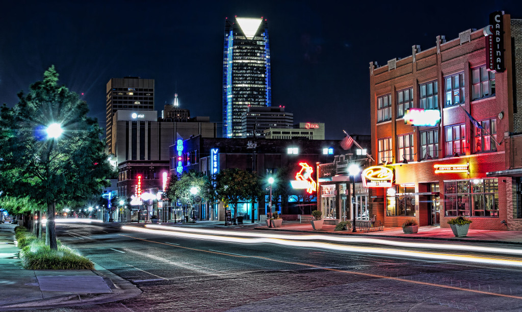 """""""Automobile Alley in Oklahoma City"""" by katsrcool/Flickr. Licensed under CC BY 2.0"""